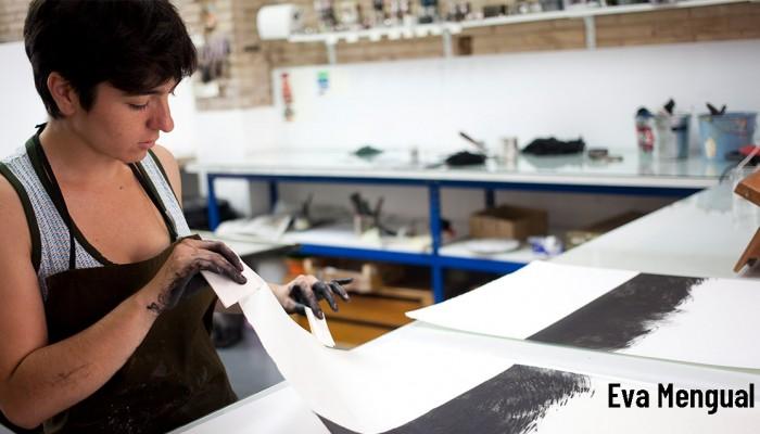 JORNADAS INDUSTRI.ART | Eva Mengual: Técnicas de producción de obra gráfica