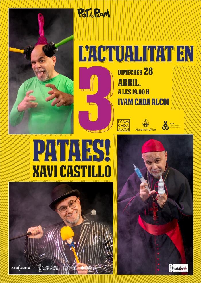 L'Actualitat en tres pataes. Xavi Castillo