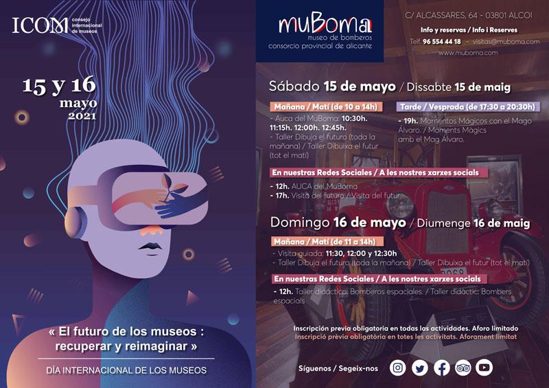 Día Internacional de los Museos en el MuBoma