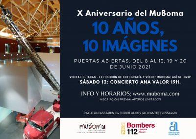 X Aniversario MuBoma: Concierto Ana Valor