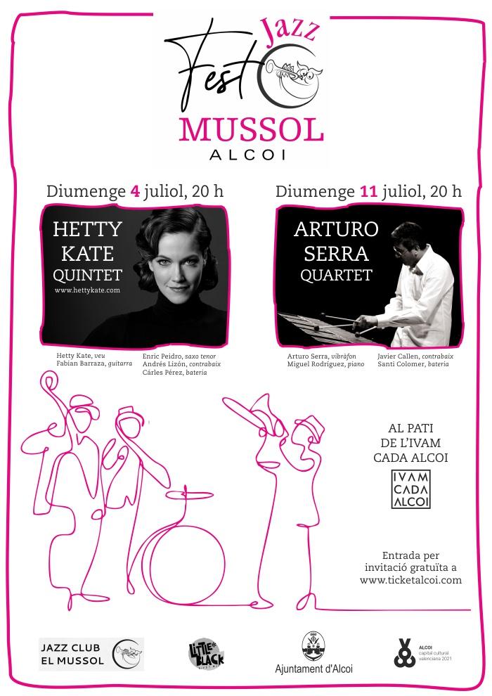 Jazz Fest El Mussol: HETTY KATE QUINTET