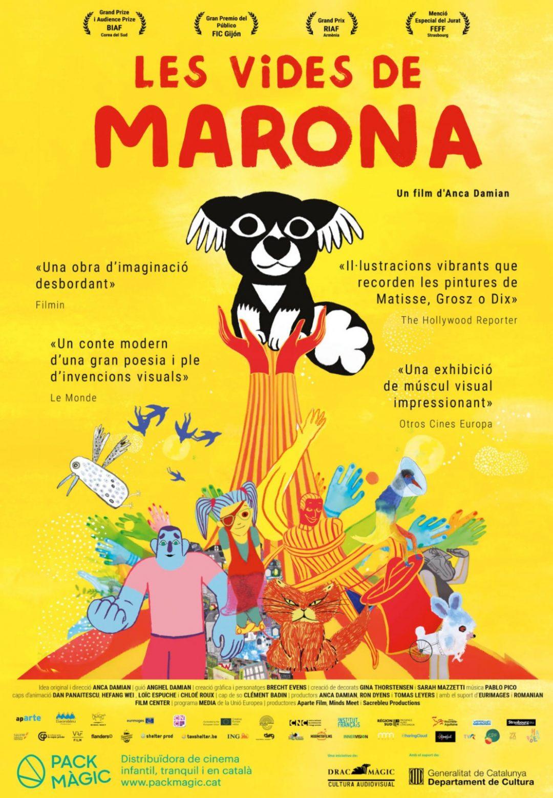 CINEMA D'ESTIU: LES VIDES DE MARONA