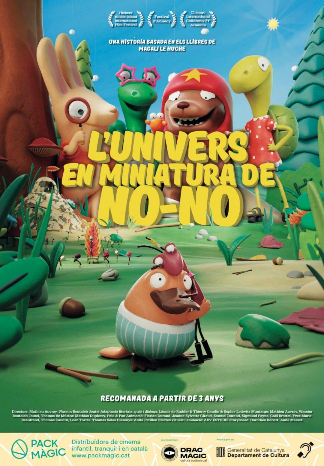CINEMA D'ESTIU: L'UNIVERS EN MINIATURA DE NO-NO