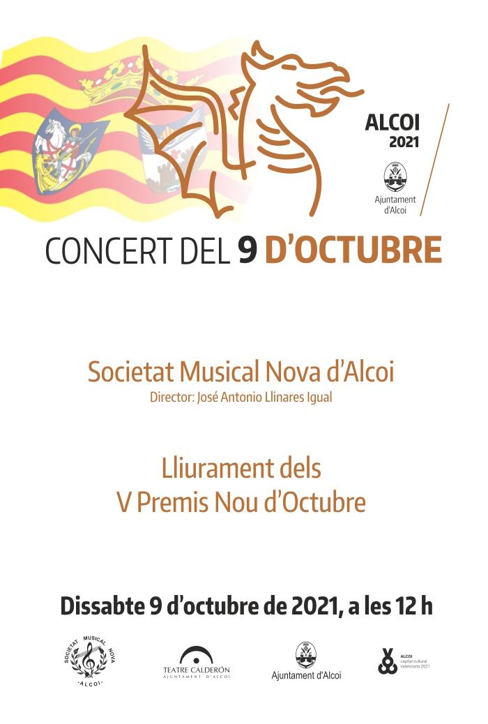 Concert del 9 d'octubre – Societat Musical Nova d'Alcoi