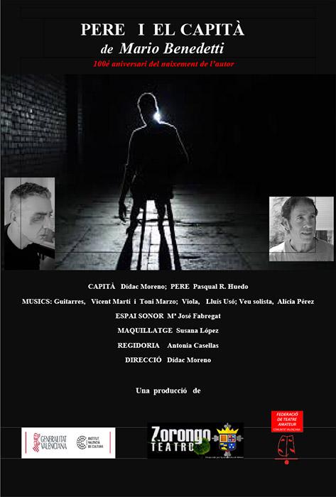 """TEATRAM: Zorongo Teatre: """"Pere i el capità"""""""