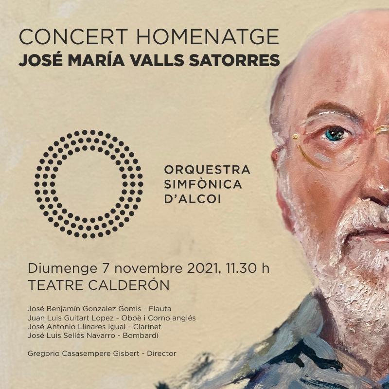 Orquestra Simfònica d'Alcoi – Concert Homentage a José María Valls Satorres